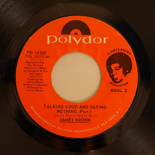 JAMES BROWN / Talking Loud And Saying Nothing 1&2
