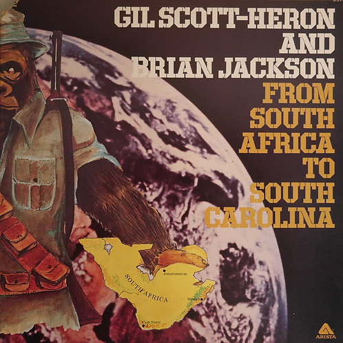 Gil Scott-Heron and Brian Jackson / From South Africa To South Carolina(USオリジナル)