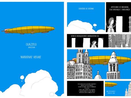 Oficina Narrativas Visuais: desenho criativo em diferentes linguagens, com Guazzelli