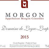 Etiquette Morgon Domaine 2015.png