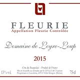 Etiquette Fleurie Domaine 2015.png