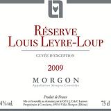 Etiquette_Morgon_Réserve_2009_petit_for