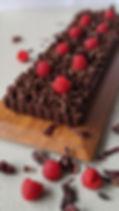 Italian Truffle Cake Decorated With Rasp