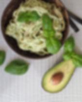 Wholegrain Fettuccine With Avocado Cream