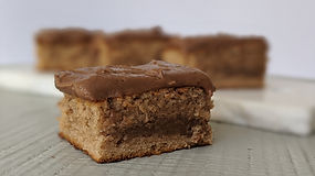 Cinnamon Cake With Coffee Cocoa Icing1.j
