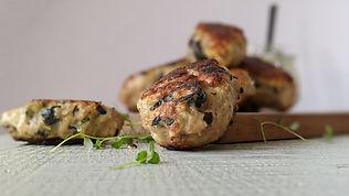 Greek Meatballs with Herbal Dressing3.jp