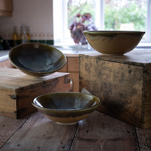 Serving dish - Floating Honister Green