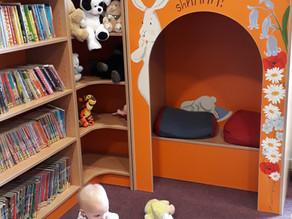 New Children's area at Wendover Library