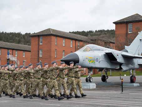 RAF Halton Public Notice of Flying