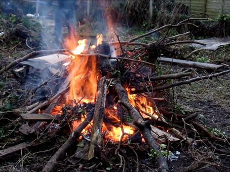 Bonfires in Allotments