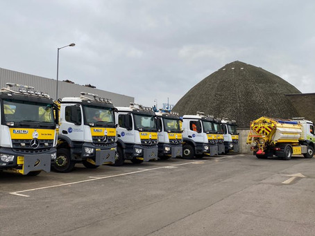 The Grit Parade - Buckinghamshire's gritters take to the streets in preparation for winter