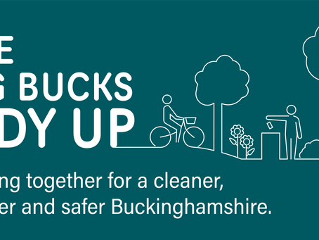 Buckinghamshire's public spaces are being transformed as part of 'The Big Bucks Tidy Up'