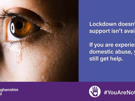 Domestic abuse support in Buckinghamshire during coronavirus