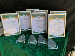 Community Awards and Freedom of the Parish