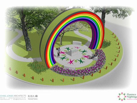 NHS Rainbow sculpture to provide lasting tribute to NHS and local community