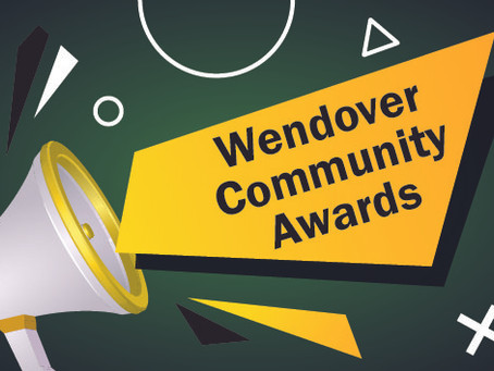 Wendover Community Awards Presentation