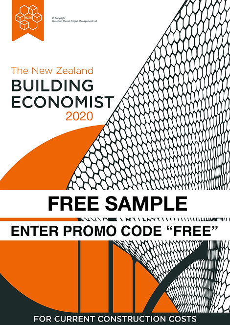 "The New Zealand Building Economist - Digital Sample USE PROMO CODE ""FREE"""