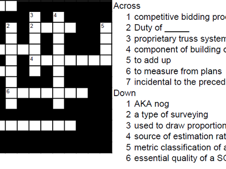 Worlds 1st QS X-word #3 May 2021
