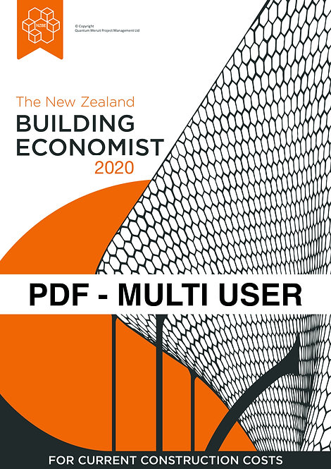 The New Zealand Building Economist - Digital Version MULTI USERS 2-3