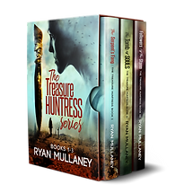 The Treasure Huntress - Box Set 1 - Books 1-3 - Sunbird Books