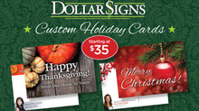 Custom Holiday Postcards Starting at $35