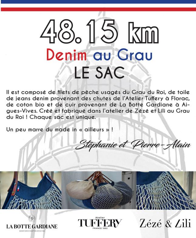 48.15 km Denim au Grau LE SAC