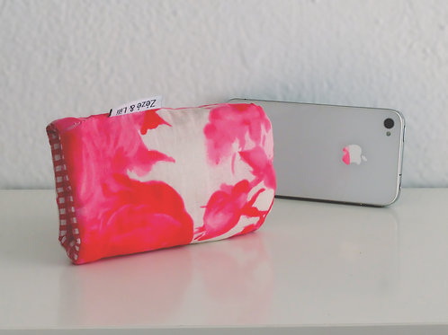 Protège téléphone rose (pour iPhone) - Made in France