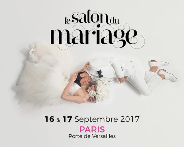 Salon du mariage aux portes de Versailles du 16 au 17 Septembre 2017