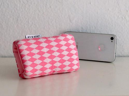 Protège téléphone losanges (pour iPhone) - Made in France