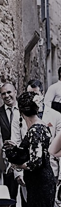 Réalisation Robe de cérémonie en dentelle de calais noire by Zézé & Lili