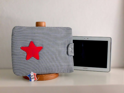 Protège tablette étoile - Made in France