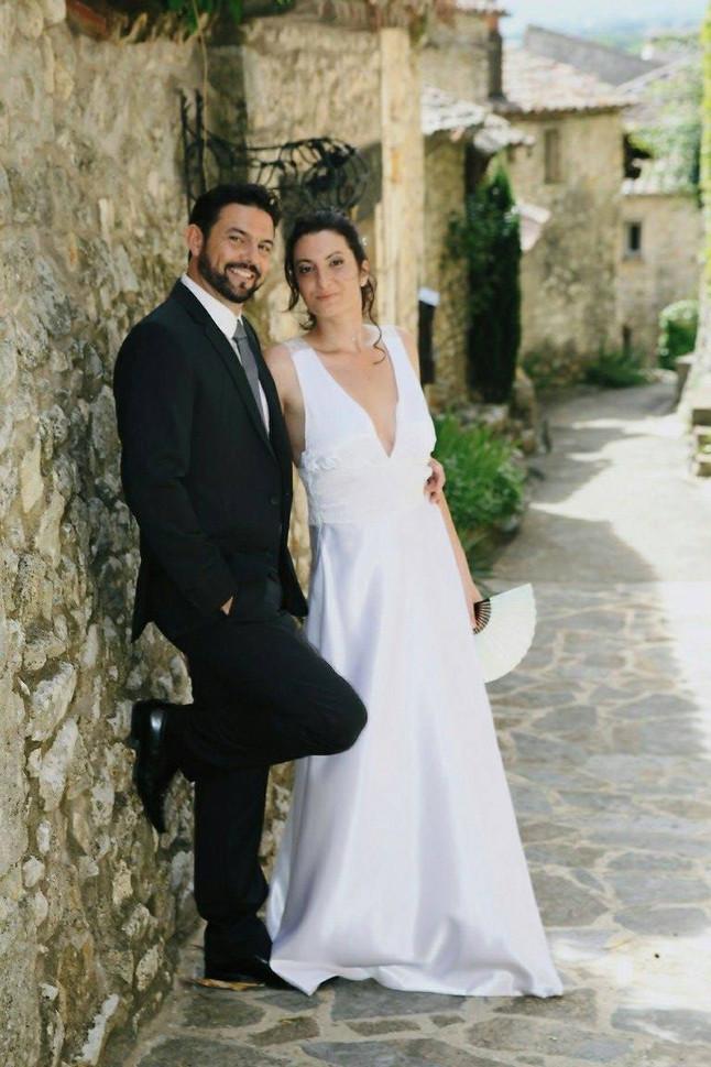 Une mariée en soie by Zézé & Lili
