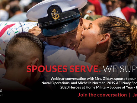 Navy League Service Spouse Series: AMA with Mrs. Gilday