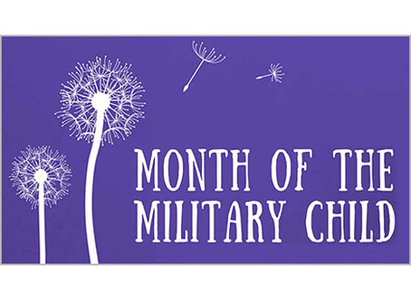 April - Month of the Military Child