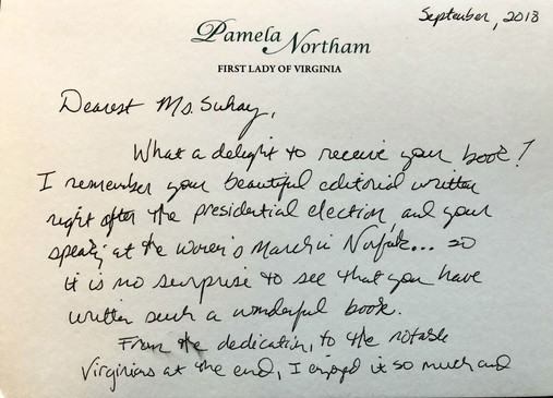 Pam Northam letter
