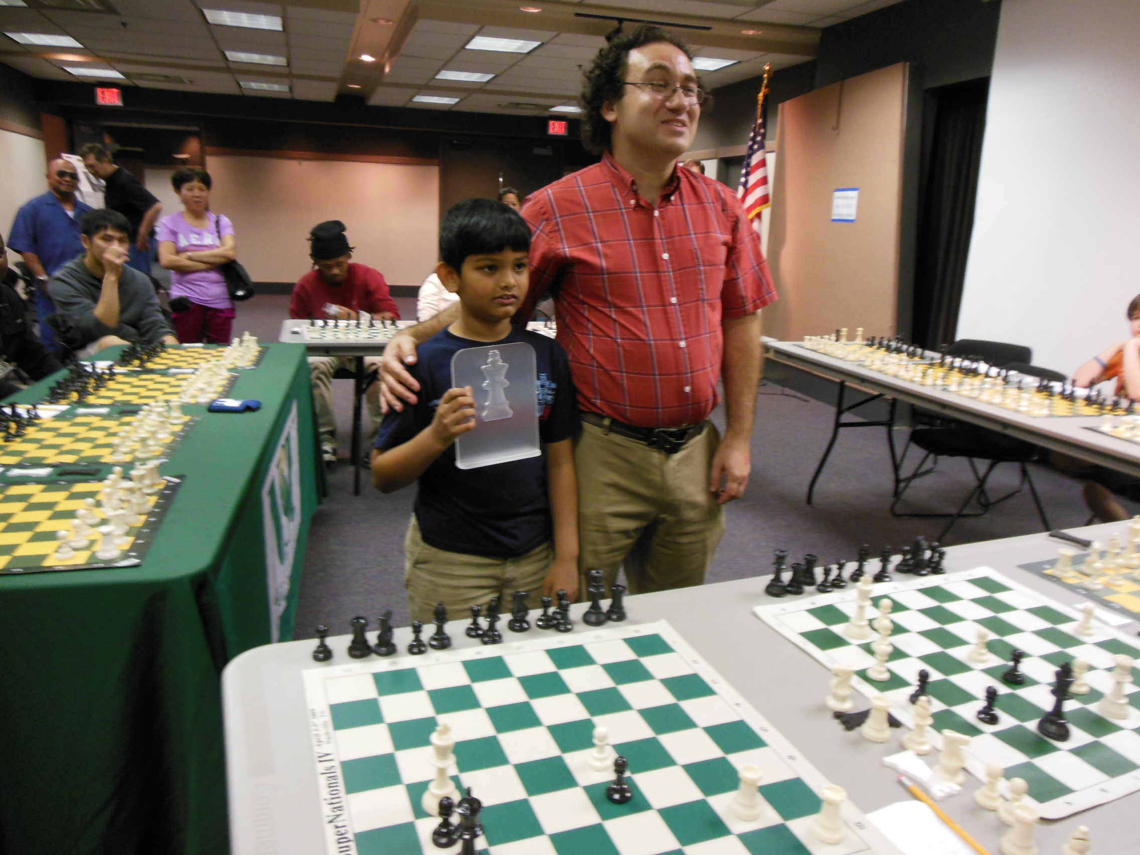 Master James Schuyler after simul