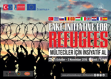 Erasmus+ Take initiative for refugees.jp