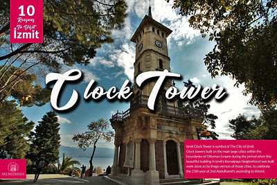 10 reasons visit to Izmit - Clock Tower.