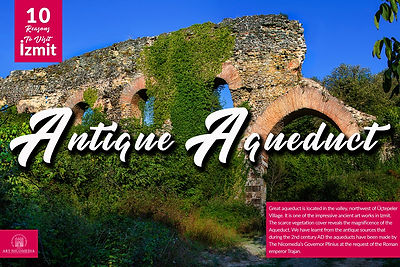 10 reasons visit to Izmit - Antique Aque