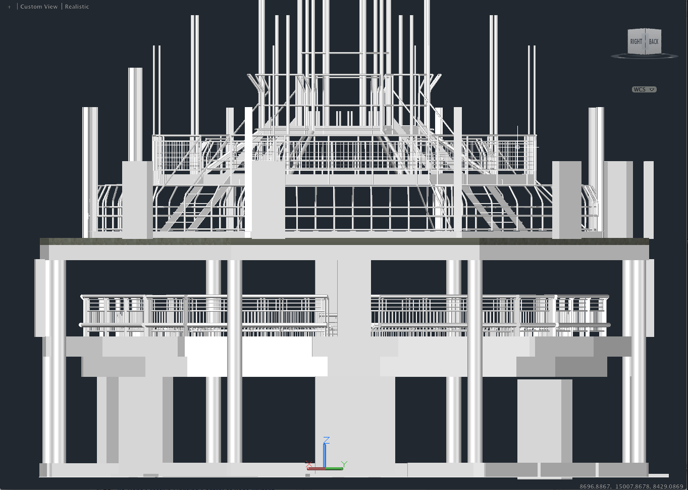 "AutoCAD ""The Rose Theatre"""