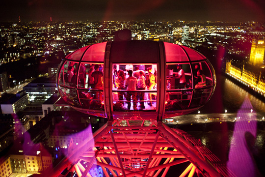Red Bull London Eye 2012
