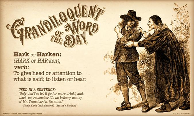 Hark or Harken