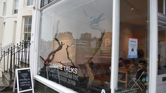 CMUK Climate Talks Comission, 2019 @ The ONCA Gallery, Brighton