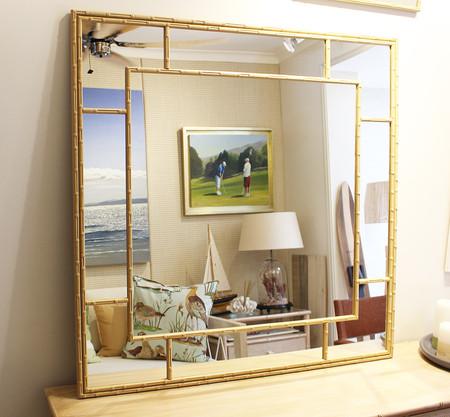 Espejo Art-Bambú