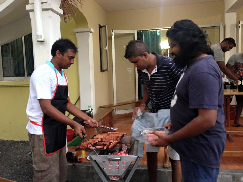 BBQ Party - EOY 15