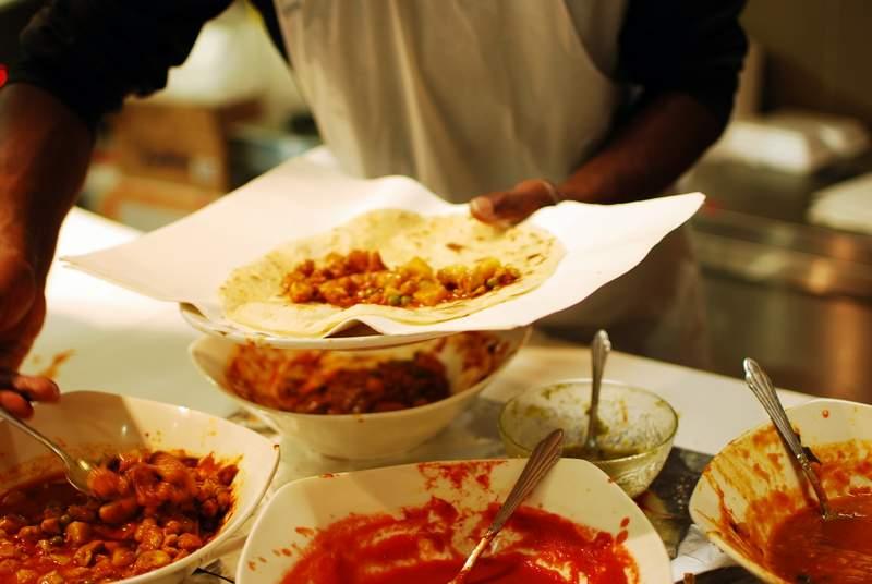 Roti Cari/ Farata & Curry