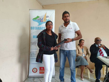 Visit à l'ONG Lizier Dan La Main