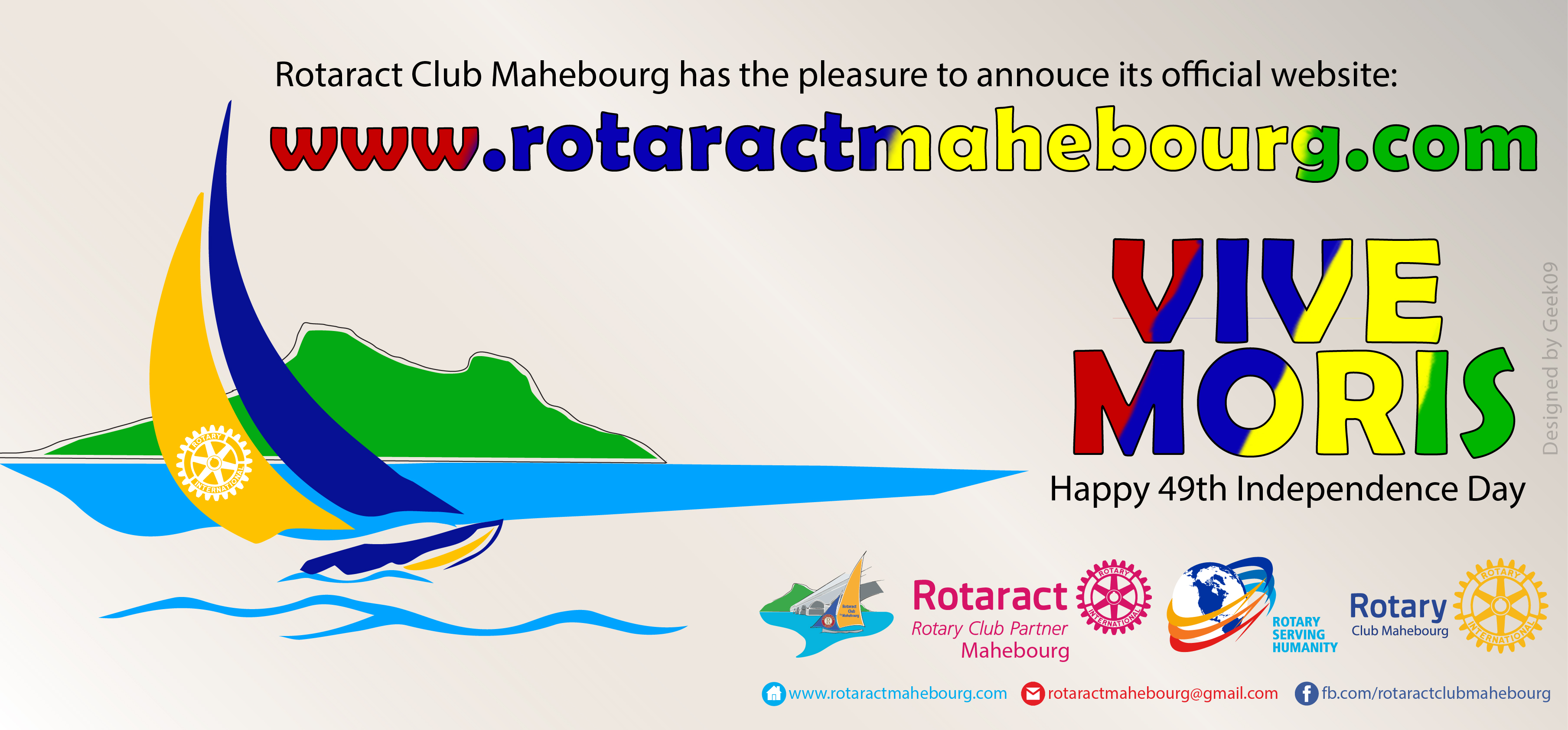 Launching of Rotaract Club Mahebourg