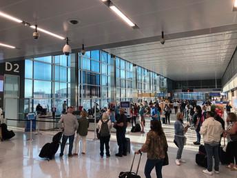 DFW Terminal D Extension Opens!