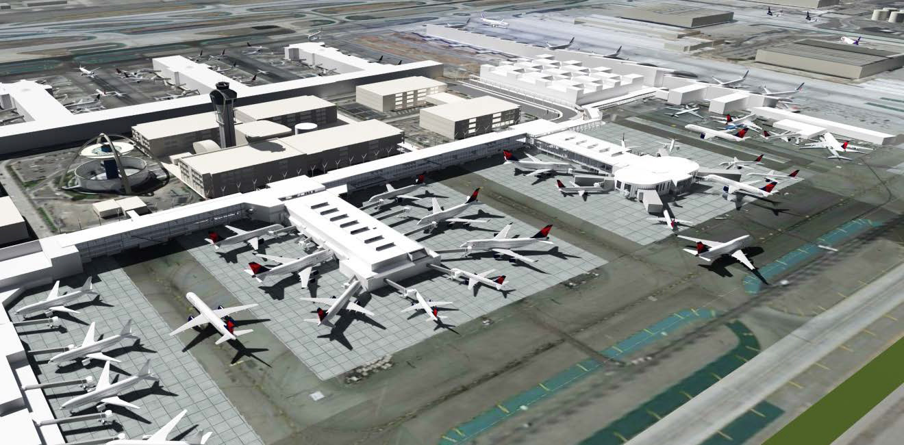 LAX Delta Terminal